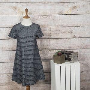 3/$25 Zara Geometric Mini Swing Dress Small